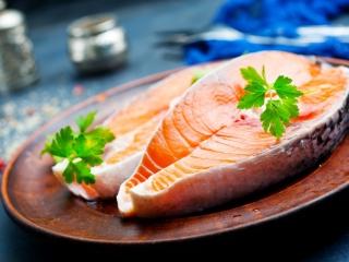 Salmon Fish Steak
