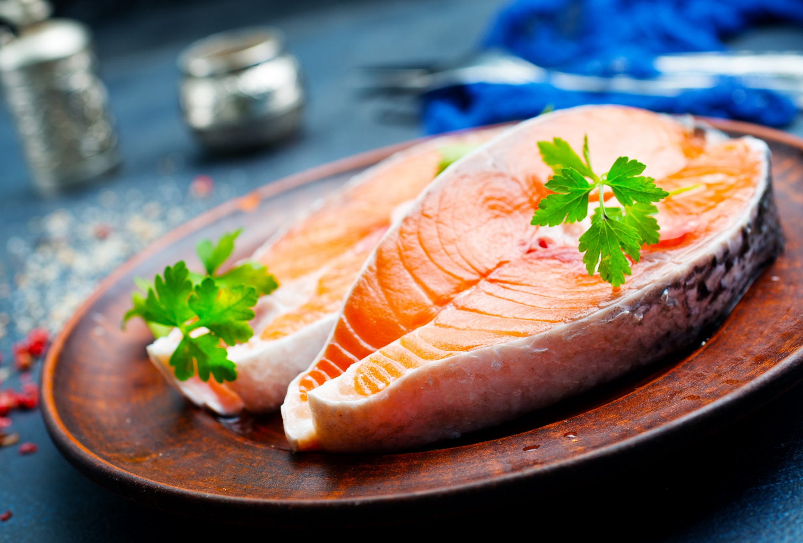 Salmon Fish Steak